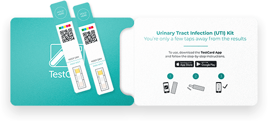 TestCard – at Home Urine Testing with Instant, Accurate & Low-cost Results  for UTI tests